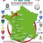 """ETAPE 05   """"LA FRANCE EN COURANT 2019""""  PIERREFITTE NESTALAS – HASPAREN: 188,5 km"""