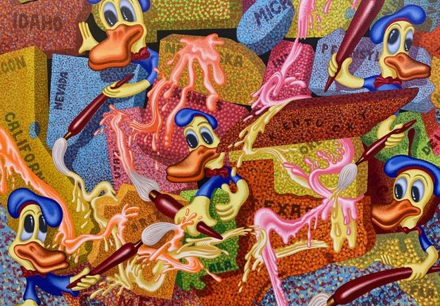 AU « DELTA », À NAMUR, « PETER SAUL. POP, FUNK, BAD PAINTING AND MORE »