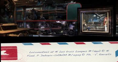 « PAUL DELVAUX, L'HOMME QUI AIMAIT LES TRAINS », À « TRAIN WORLD », JUSQU'AU 30 JUIN
